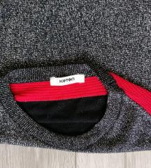 Koton šljokičasti džemper/ L