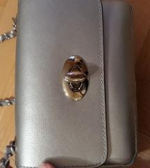 Torbica kozna srebrna nova sniz 6000