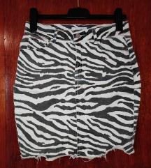 Suknja - animal print
