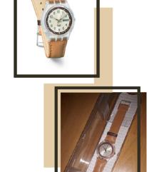 Swatch original kozni sat