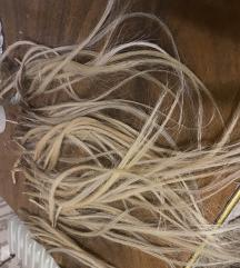 Pramenovi za nadogradnju kose keratin