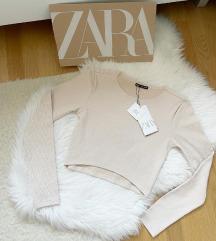 Zara krem top NOV sa etiketom