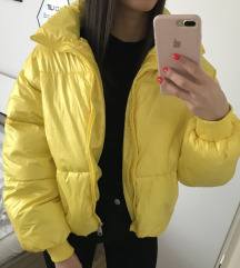 Jakna Puff- Neon-zuta S-M