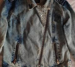 Ženska teksas jakna
