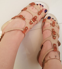 Liu Jo sandale, rimljanke