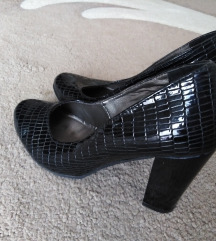 Kroko lakovane cipele 37
