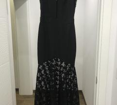 Crna duga haljina Balasevic SNIZENO