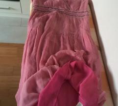 SIGRID OLSEN dizajnerska haljina, 100% SVILA, 4