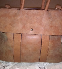 Braon velika torba NOVA