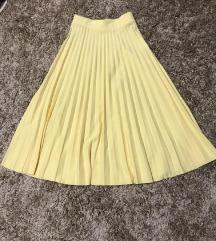 Potpuno nova suknja na plisire