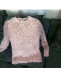 SADA 450 RSD Bebi roze džemper