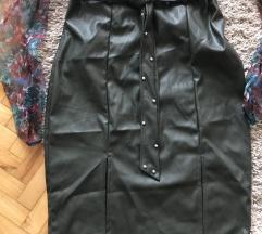 Suknja visoki struk sa cirkonima NOVA sa etiketom
