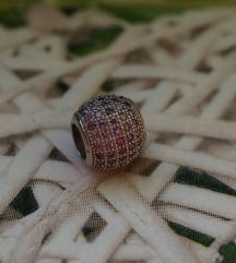 Srebrni privezak za Pandora narukvicu