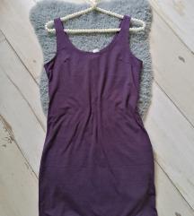 H&M haljina sa elastinom m
