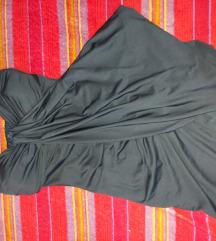 Teget plava haljina