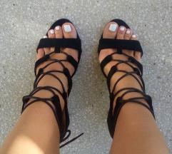 Sandale od prevrnute veštačke kože