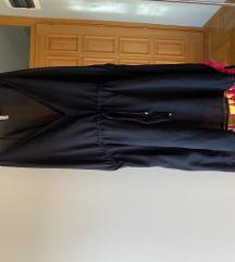 Crna terranova haljina za plazu