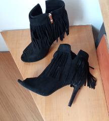 Duboke sandale sa resama