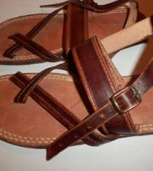 NOVE skroz kožne japanke-sandale