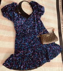 Zara šljokičava haljina