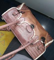 Velika braon torba