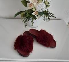 H&M bordo papuce