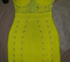 Herve neon haljina bandage