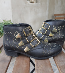 BRONX Zenske kratke kozne cizme ORIGINAL