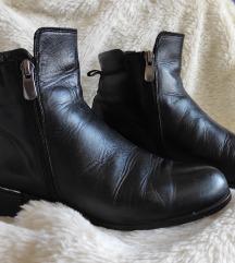Crne cipele do članka br. 38