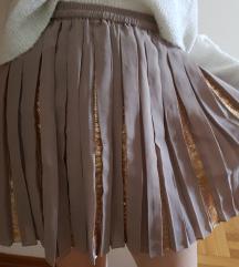 SNIŽENO! 750 RSD Plisirana suknja sa šljokicama