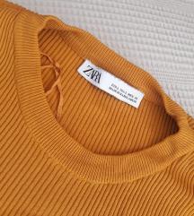 Zara džemper balon rukavi