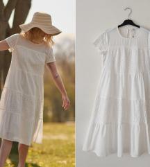 rezzSINSAY divna cotton haljina sa vezom NOVO