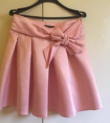 Roza suknjica, snižena na 1800 ♥
