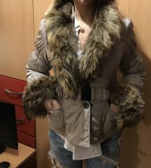 Zimska jakna sa krznom S
