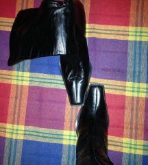 Crne carapa cizme