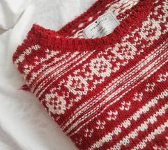 Springfield praznični džemper sa resama