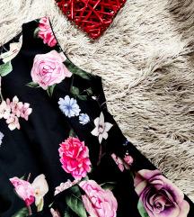 Rasprodaja,Cvetna haljina,made in Italy Nova!