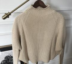 Zara bež džemper
