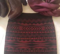 %%%Amisu boho trikotazna suknja