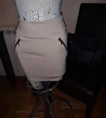 Stradivarious pamucna suknja