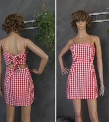 Karirana haljina XS-S