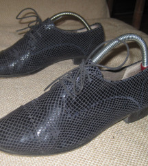 Kožne teget cipele Beogradske obuće Uno