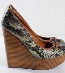 Kožne cipele sa printom