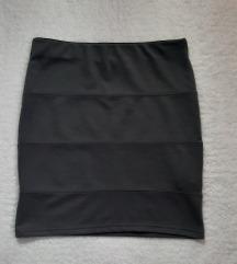 Clockhouse siva uska mini suknja