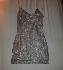 Srebrna haljina SA ETIKETOM