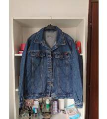 Oversized vintage teksas jakna