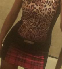 Svecana mini haljina sa printom