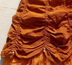 Snizenje! Vintage Viktorianska suknja S