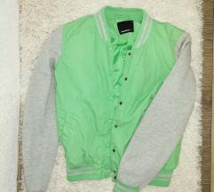 Fishbone jakna neon zelena☺️