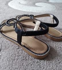 Ravne sandale 38